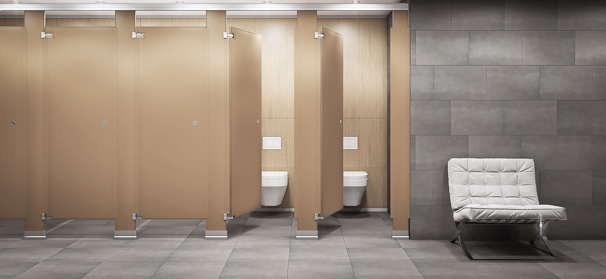 Bathroom Partitions | Experience you can rely on